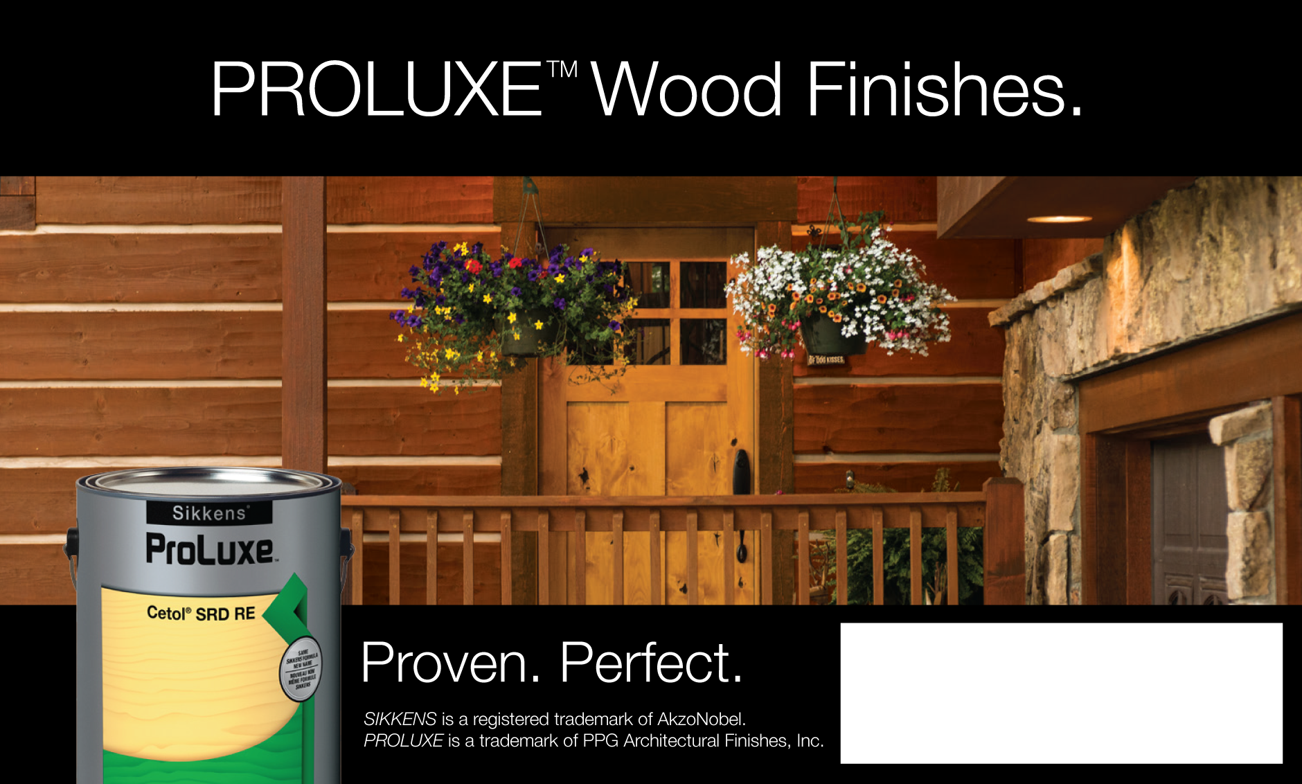 Pro Luxe wood finishes